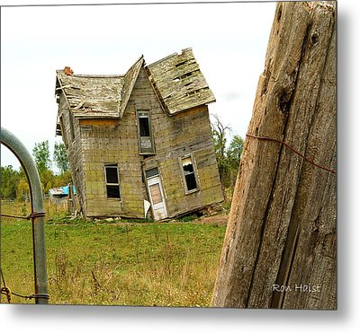 Once A Home Metal Print by Ron Haist
