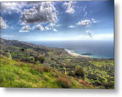 Palos Verdes Peninsula Hdr Metal Print by Heidi Smith