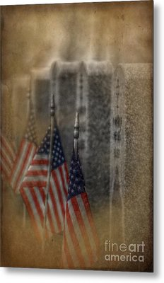 Patriots Pallet Metal Print by The Stone Age