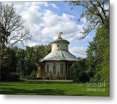 Potsdam The Chinese House Metal Print by Kiril Stanchev