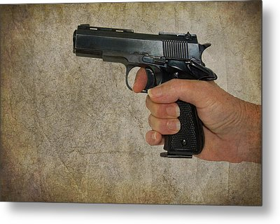 Protecting Your Home Metal Print by Charles Beeler