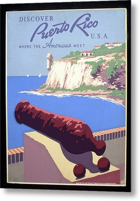Puerto Rico Usa Metal Print by Unknown