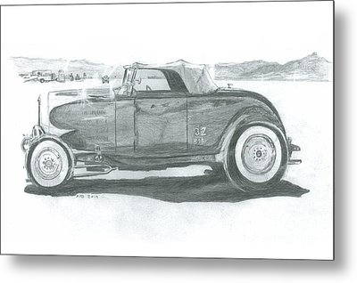 Real Car Guy...real Car Metal Print by Stacey Becker