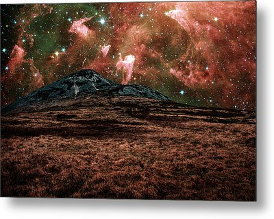 Red Planet Metal Print by Semmick Photo