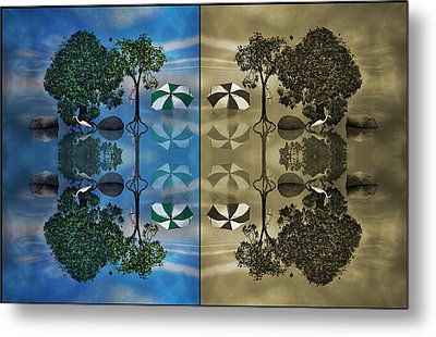 Reflections Metal Print by Betsy C Knapp