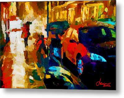 Richmond Street Tnm Metal Print by Vincent DiNovici