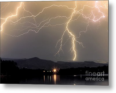 Rocky Mountain Thunderstorm  Metal Print by James BO  Insogna