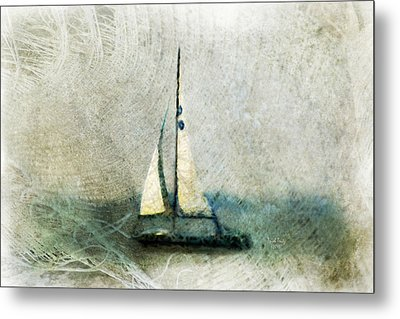Sailin' With Sally Starr Metal Print by Trish Tritz