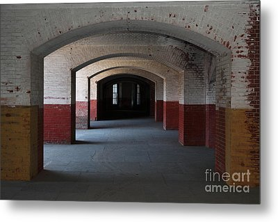 San Francisco Fort Point 5d21544 Metal Print by Wingsdomain Art and Photography