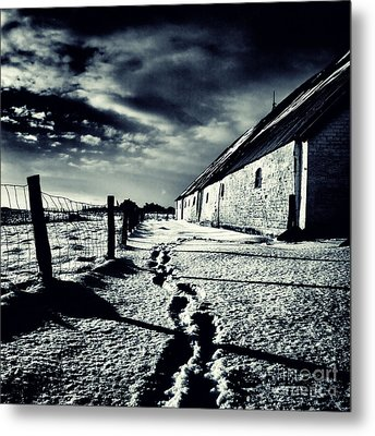 She Walked Away  Metal Print by Stelios Kleanthous