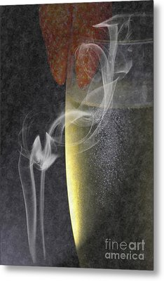 Smokey  Metal Print by Brian Roscorla