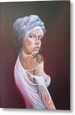 Sonia Metal Print by Ray Agius