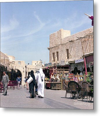 Souq Life Metal Print by Paul Cowan