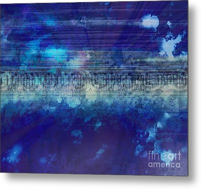 Speed Of Thought Metal Print by Bedros Awak