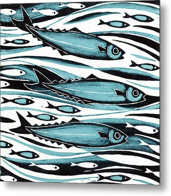 Sprats Metal Print by Nat Morley