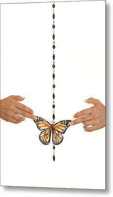 Spread Your Butterfly Wings Metal Print by Dario Infini