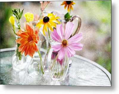 Spring Delights Metal Print by Bonnie Bruno