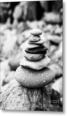 Stack Metal Print by Anne Gilbert