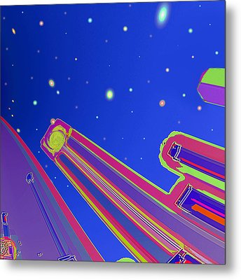 Starscrapers Metal Print by Wendy J St Christopher