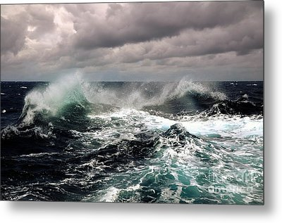 Storm Wave Metal Print by Boon Mee