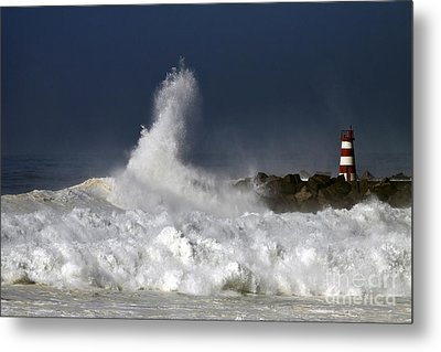 Storm Waves Metal Print by Boon Mee