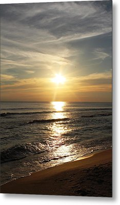 Sunset In Panama City Metal Print by Vicki Kennedy