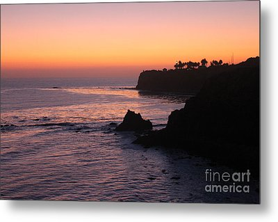 Sunset In Paradise Metal Print by Bev Conover