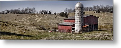 Tennessee Farmstead Metal Print by Heather Applegate