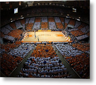 Tennessee Volunteers Thompson-boling Arena Metal Print by Replay Photos