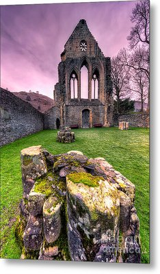 The Abbey  Metal Print by Adrian Evans