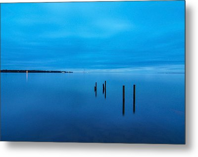 The Big Blue Metal Print by Donnie Smith