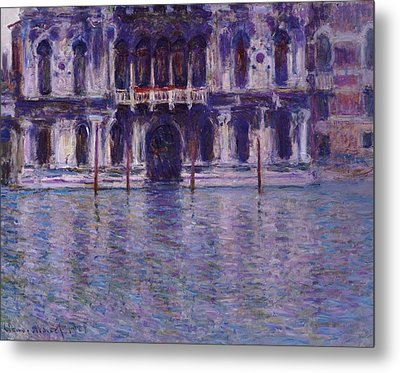 The Contarini Palace Metal Print by Claude Monet