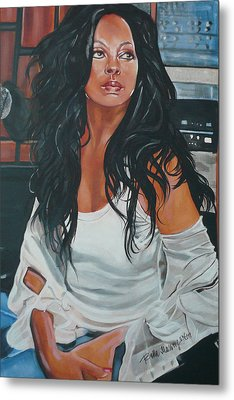 The Diva Metal Print by Belle Massey