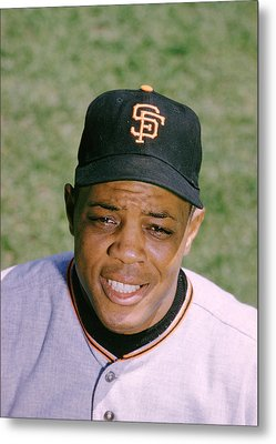 The Great Willie Mays Metal Print by Retro Images Archive