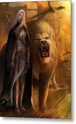 The Guardians Metal Print by Steve Goad