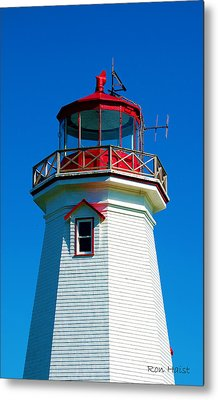 The Guiding Light Metal Print by Ron Haist