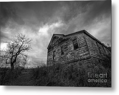 The Haunted Metal Print by Michael Ver Sprill