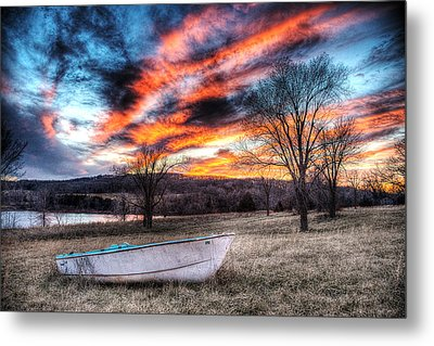 The Humble Boat Metal Print by William Fields