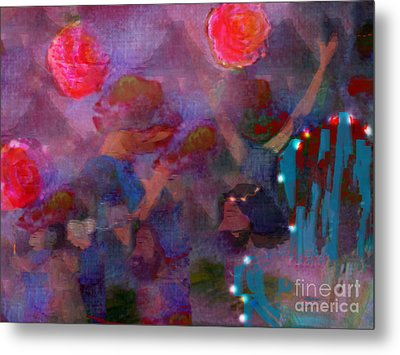 The Lord Thy God In The Midst Of Thee Is Mighty  Metal Print by Deborah Montana