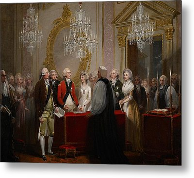 The Marriage Of The Duke And Duchess Of York Metal Print by Henry Singleton