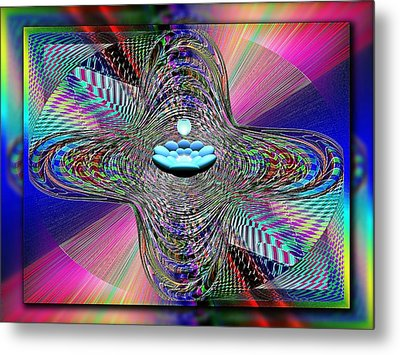 The Orb And The Bowl Metal Print by Tim Allen