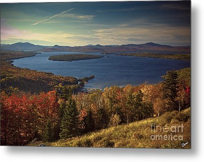 The Overlook Metal Print by Alana Ranney