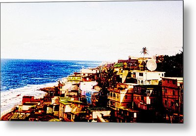 The Pearl Of Old San Juan Metal Print by Sandra Pena de Ortiz