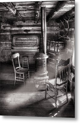The Piano Room Metal Print by Ken Smith