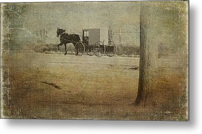 The Ride Home Metal Print by Kathy Jennings
