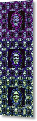 The Three Medusas 20130131 - Vertical Metal Print by Wingsdomain Art and Photography