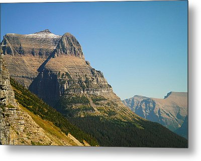 The Very First Snow In Montana In September Metal Print by Jeff Swan