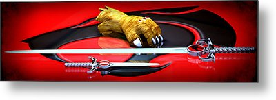 Thundercats - Ho Metal Print by Frederico Borges