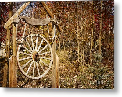 Trail's End Metal Print by A New Focus Photography