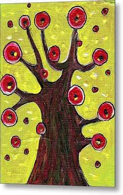Tree Sentry Metal Print by Anastasiya Malakhova